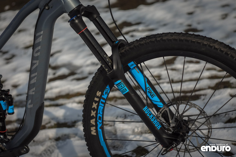 Canyon Strive Al 6.0 Race - test - Rock Shox Pike