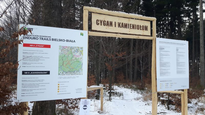 Polskie singletracki 2017-2018: Enduro Trails Bielsko Biała Cygan Kamieniołom