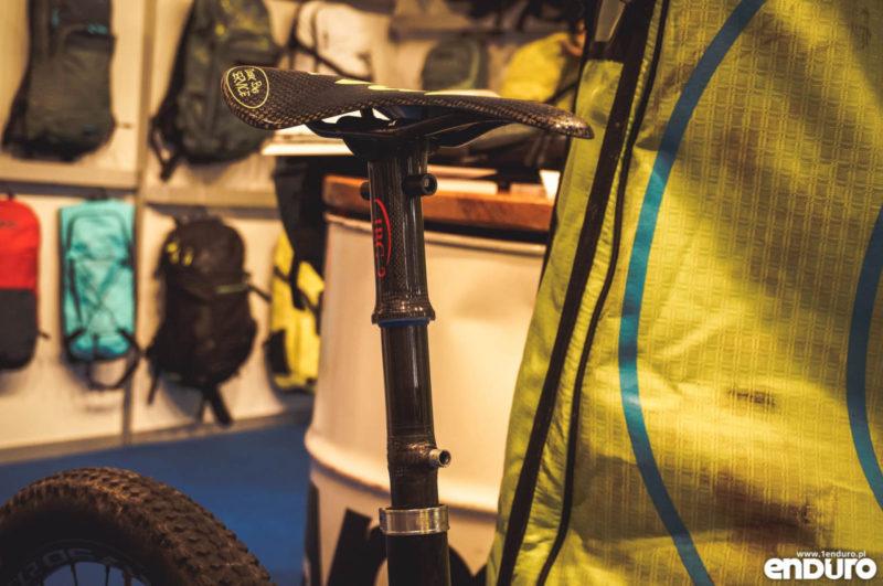 Sztyca regulowana JBG-1 carbon - Kielce Bike Expo