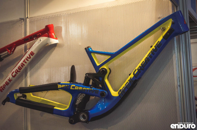 Apec Creative downhill carbon - Kielce Bike Expo