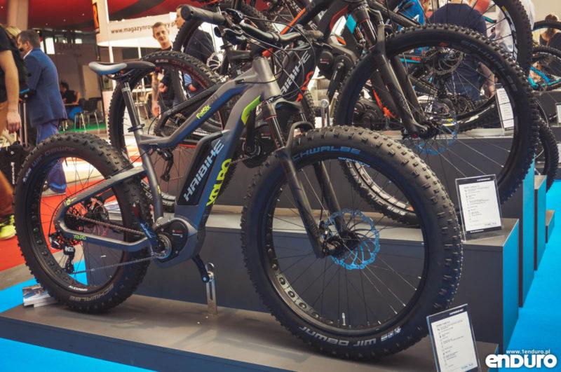 Haibike Xduro Fatsix Fatbike - Kielce Bike Expo