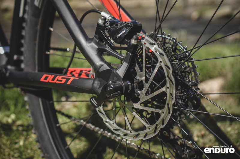 Kross Dust 3.0 - hamulec SRAM DB5