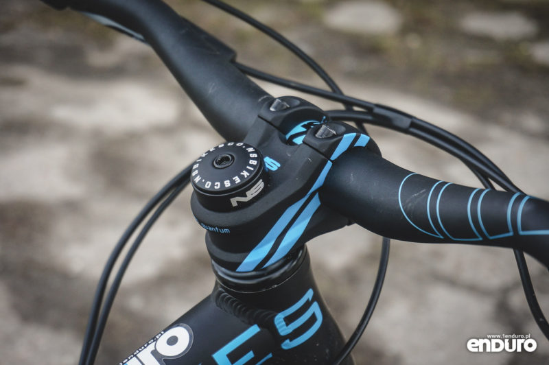 NS Bikes Djambo - mostek NS Bikes Quark