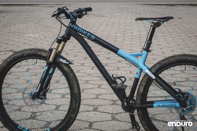 NS Bikes Eccentric Djambo - lewa