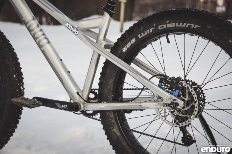 Rose The Tusker - fatbike - chainstay