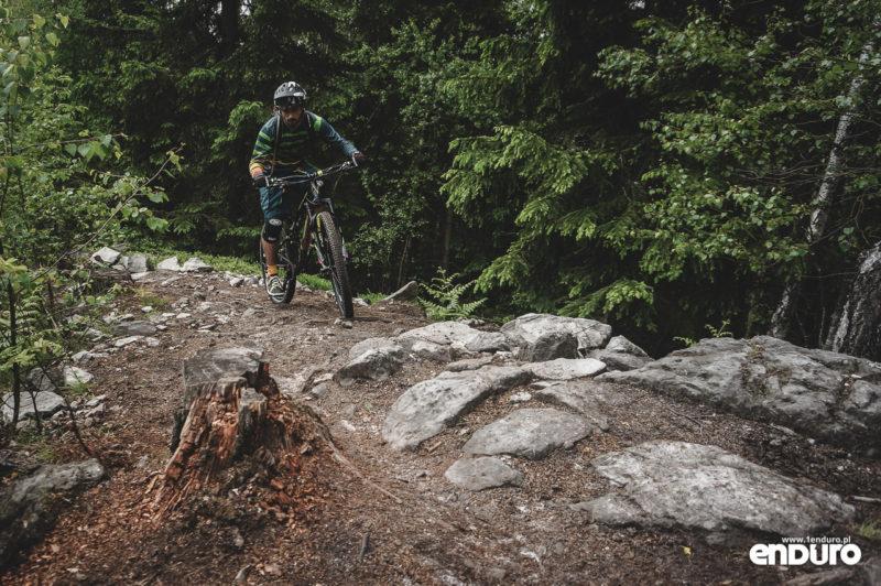 Trutnov Trails - podjazd kamienie