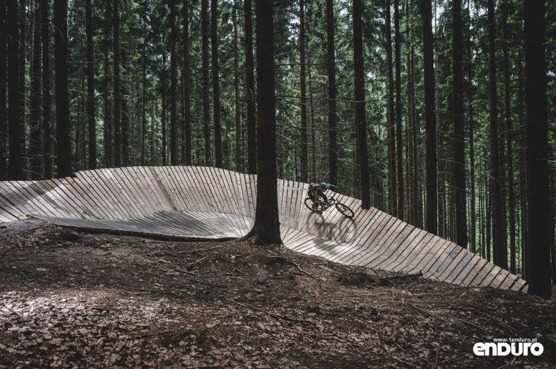 Trutnov Trails - Kozi Trail wallride