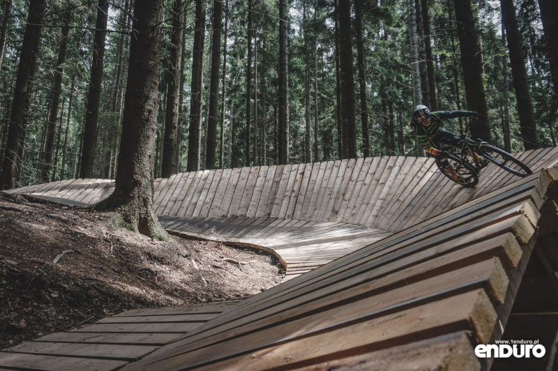 Trutnov Trails - wallride