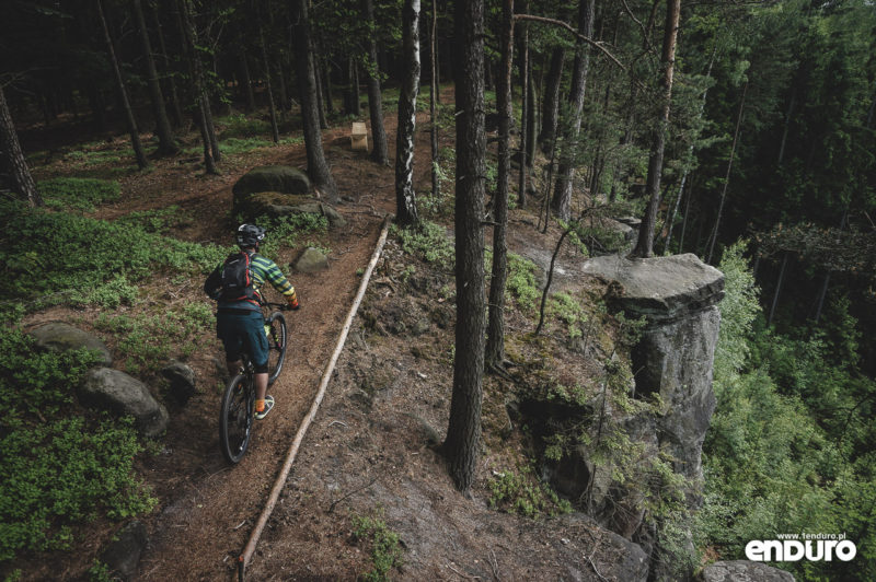 Trutnov Trails - Modrinovy Trail czerwony