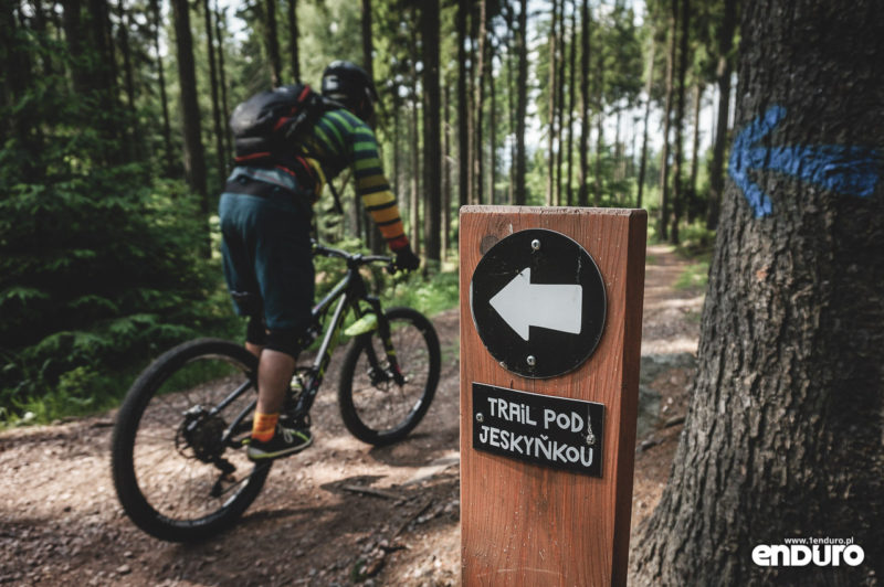 Trutnov Trails - oznakowanie