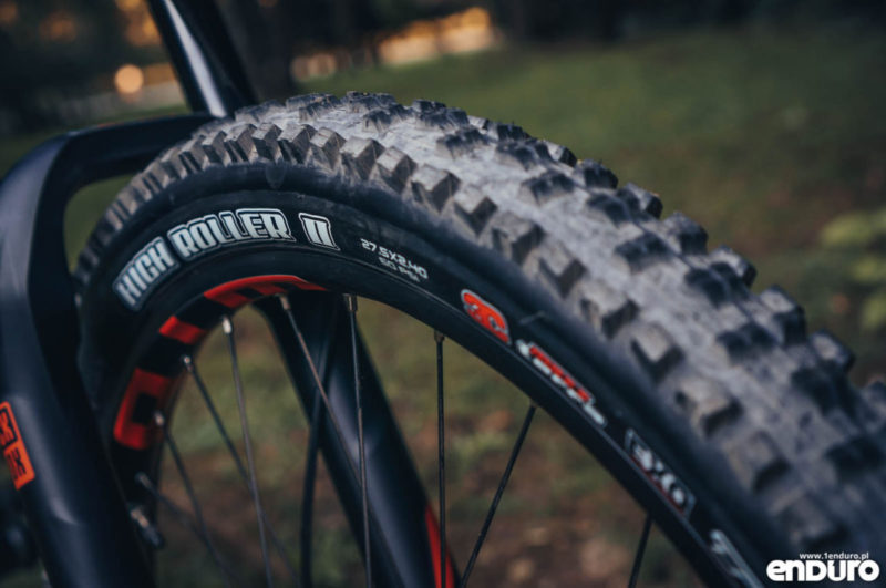 Whyte G-160 RS 2017 - Maxxis High Roller 2