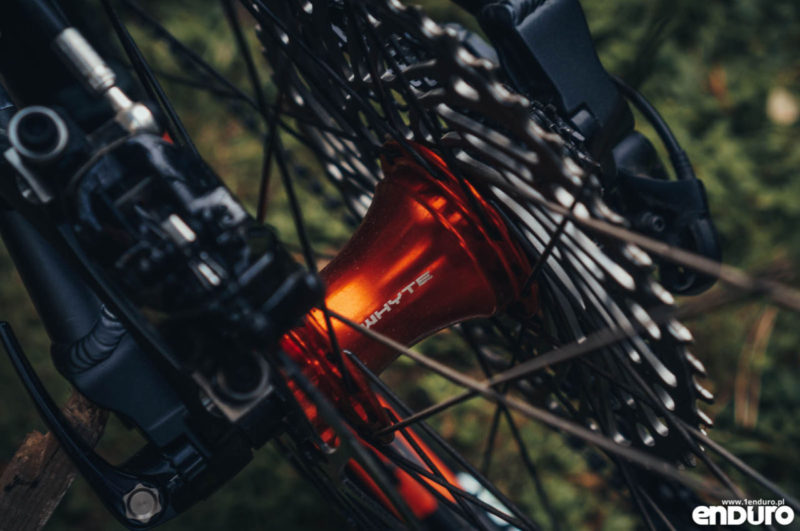 Whyte G-160 RS 2017 - Whyte micro engagement hub