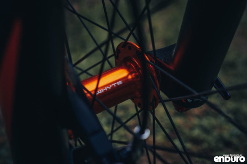 Whyte G-160 RS 2017 - piasta Whyte
