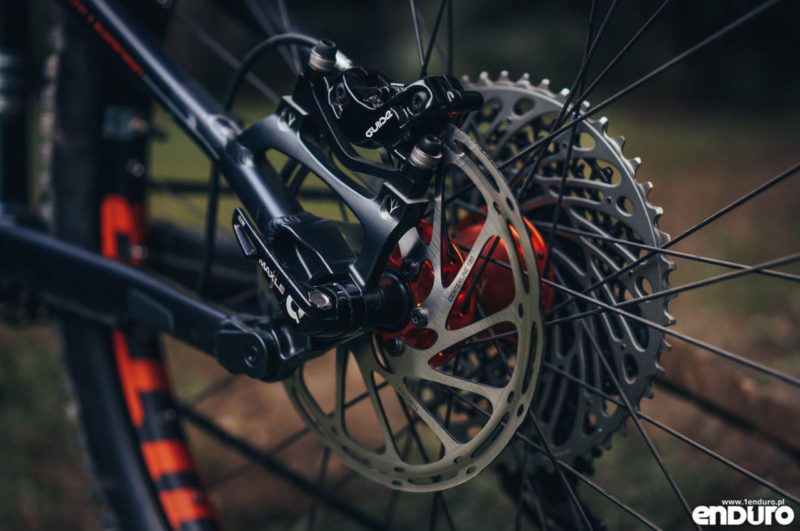 Whyte G-160 RS 2017 - tarcza SRAM Guide 180 mm