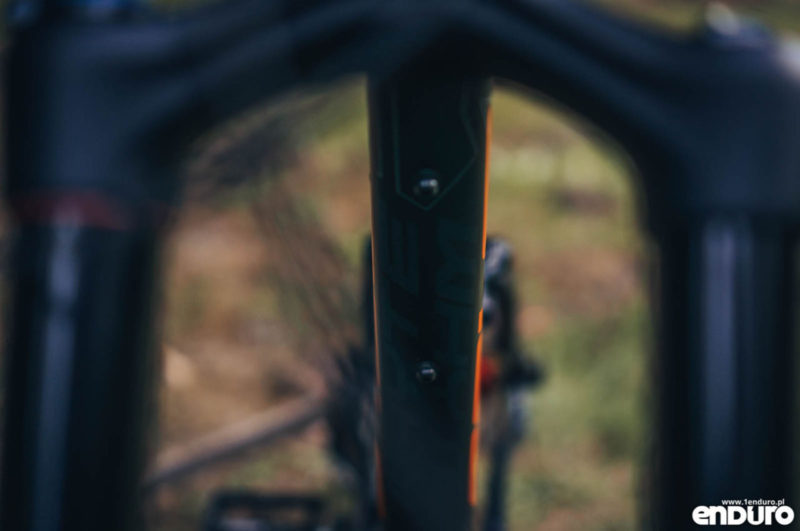 Whyte G-160 RS 2017 - Crud Catcher mount