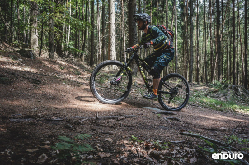 Whyte T-130 RS test - podjazdy