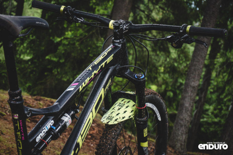 Whyte T-130 RS test - rama