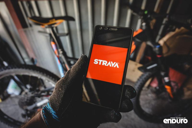 Strava - aplikacja mobilna