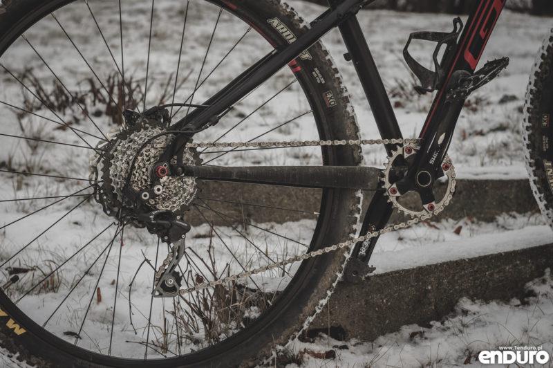 Przygotowanie roweru do zimy - napęd 1x10