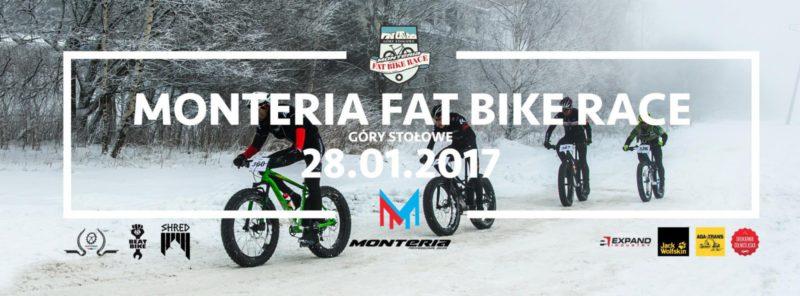 Monteria Fat Bike Race 2017 - relacja