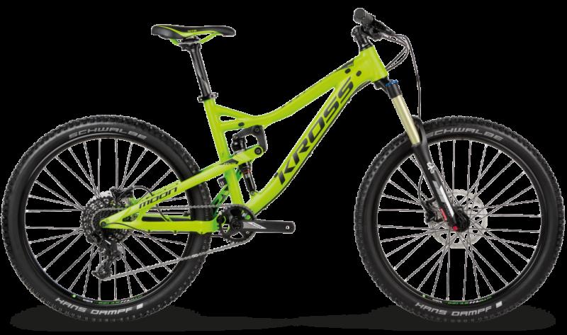 Kross Moon 1.0 2017 - rower enduro do 8000 zł