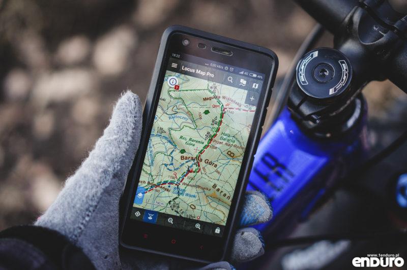 Aplikacje rowerowe na smartfona - Locus Mapy nawigacja turystyczna