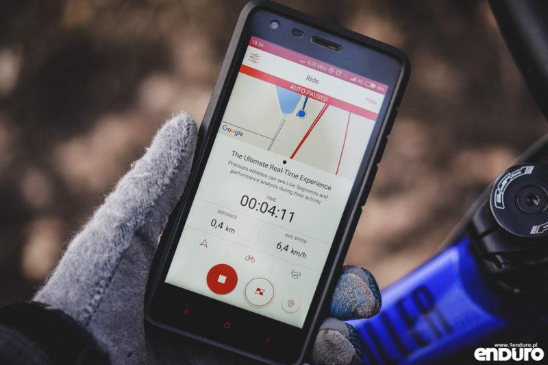 Aplikacje rowerowe na smartfona - Strava