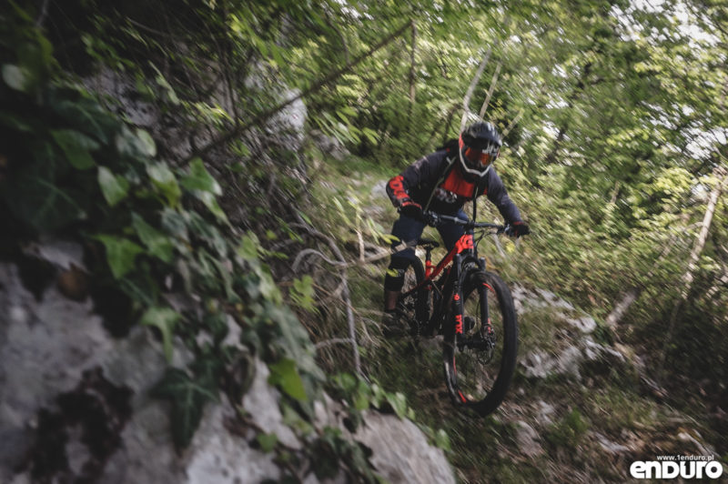 Test Cannondale Jekyll Carbon 3 2018 zjazdy