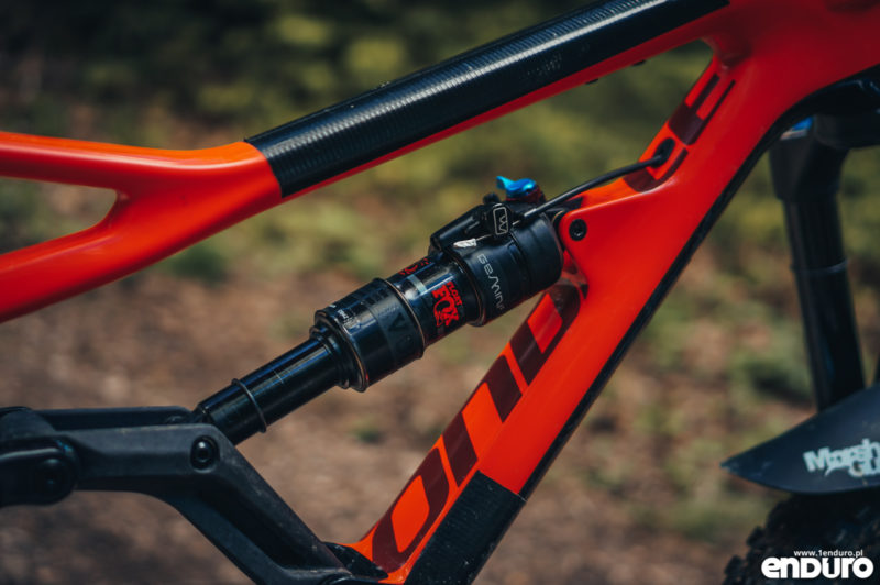 Test Cannondale Jekyll Carbon 3 2018 - Fox DPS Evol Gemini