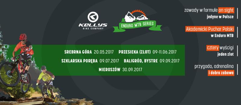 Kellys Enduro MTB Series Srebrna Góra 2017