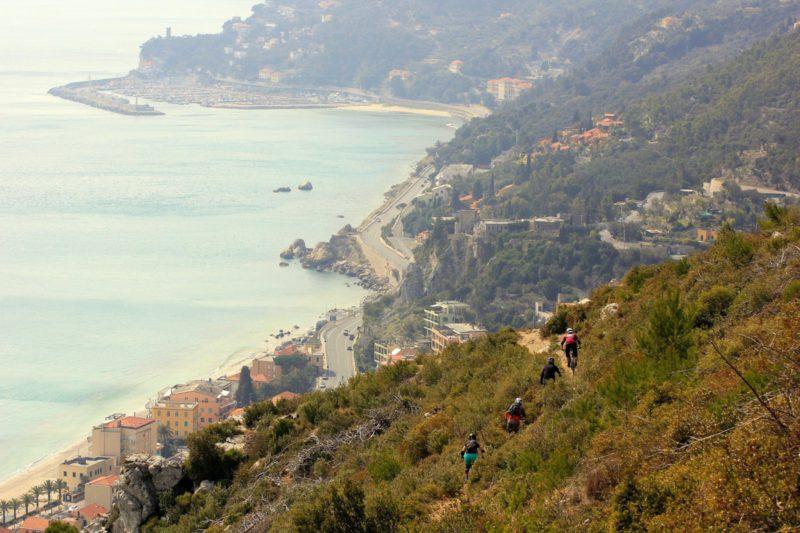 Finale Ligure - trasa enduro MTB singletrack