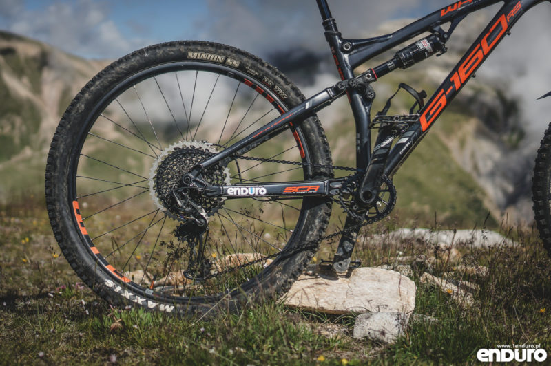 Test Whyte G-160 RS 2017 - wahacz i SRAM Eagle