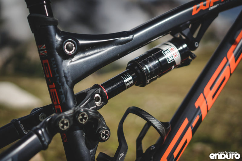 Test Whyte G-160 RS 2017 - damper Rock Shox Monarch RT3