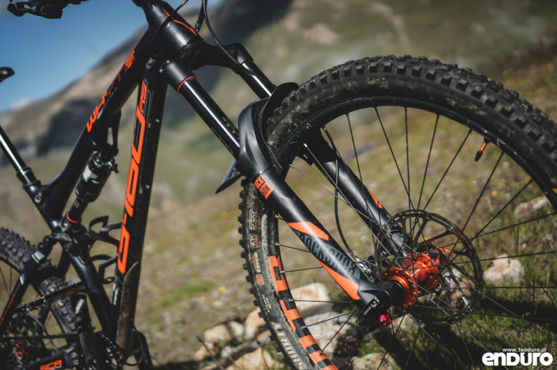 Test Whyte G-160 RS 2017 - Rock Shox Lyrik RC