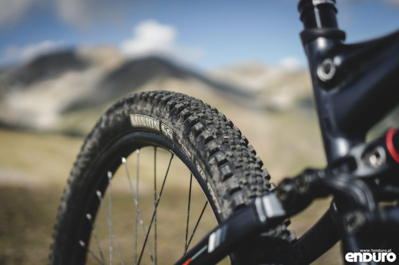 Test Whyte G-160 RS 2017 - Maxxis Minion SS