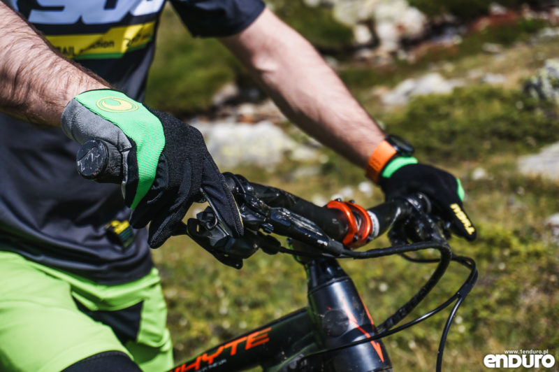 Test: rękawiczki TYGU One Green / Black