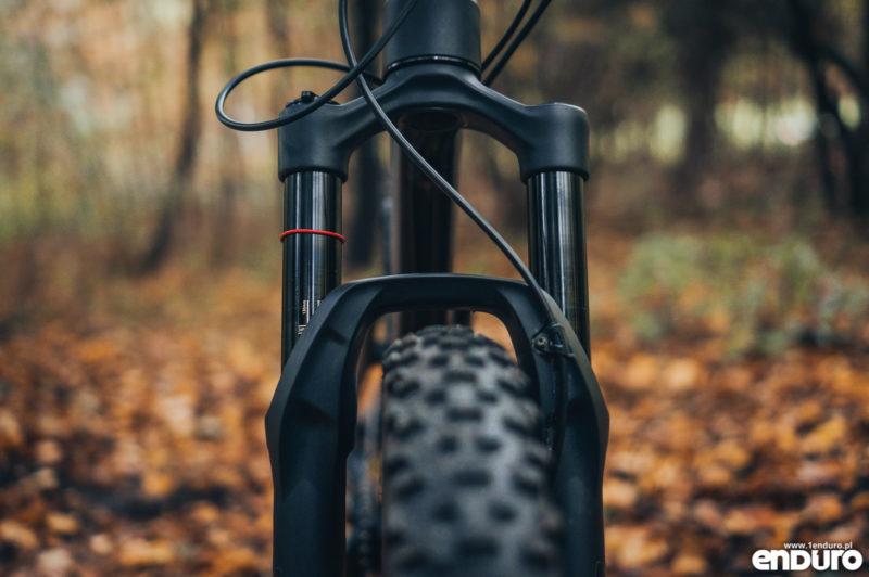 Kross Soil EX 2018 - amortyzator Rock Shox Pike 2018