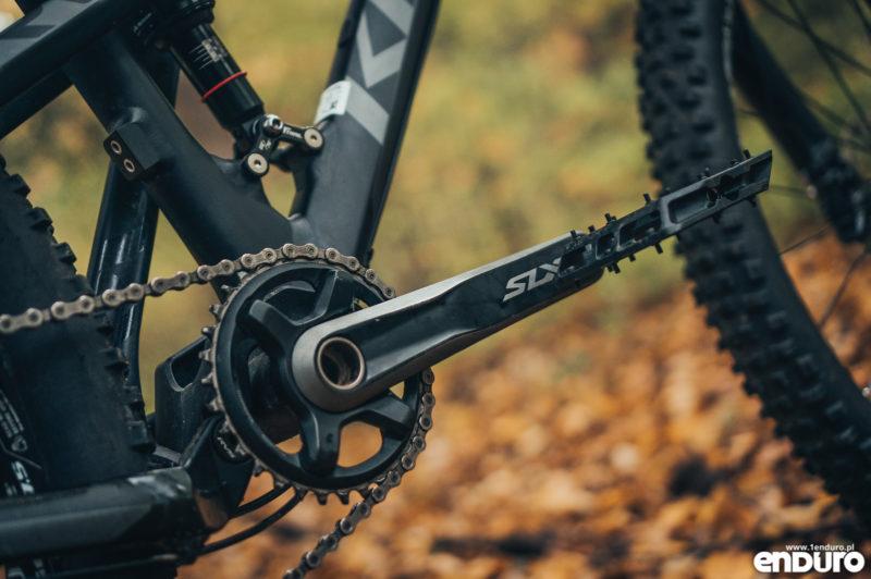 Kross Soil EX 2018 - korba Shimano SLX M7000