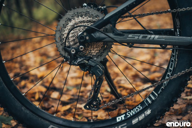 Kross Soil EX 2018 - napęd Shimano Deore XT M8000 11-46T