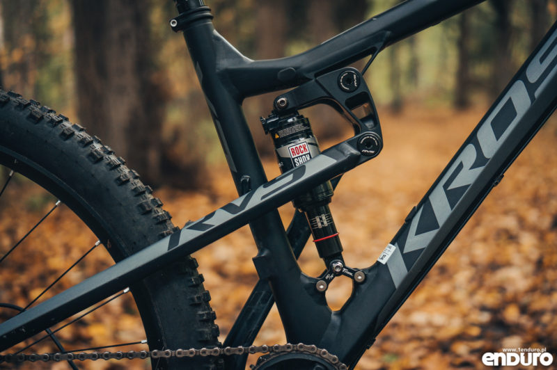 Kross Soil EX 2018 - damper Rock Shox Monarch R DebonAir