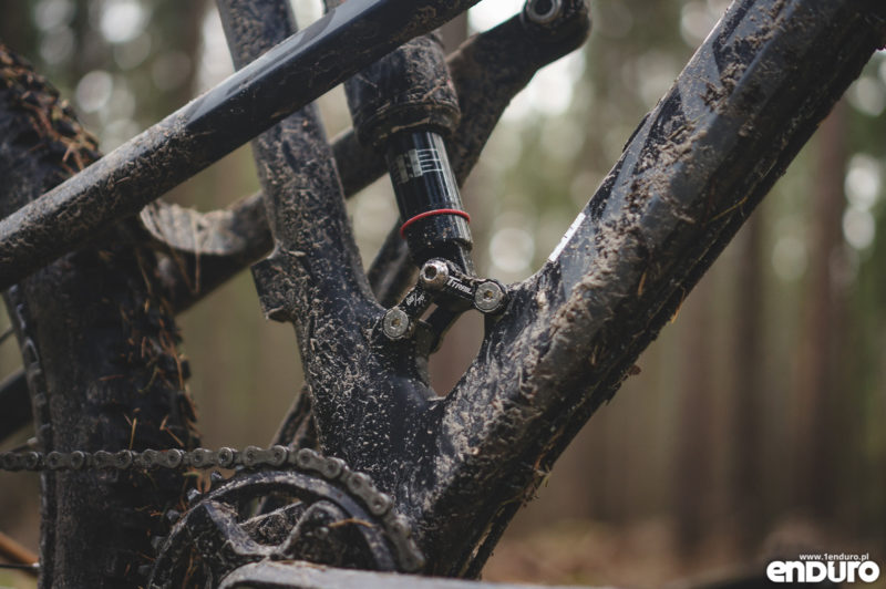 Kross Soil EX 2018 - test - mocowanie dampera Trail EX
