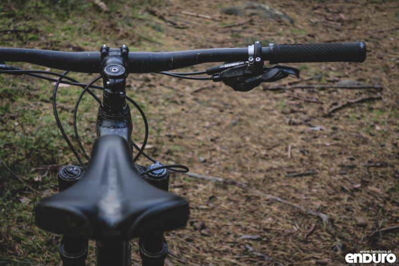 Kross Soil EX 2018 - test - manetka Shimano SLX
