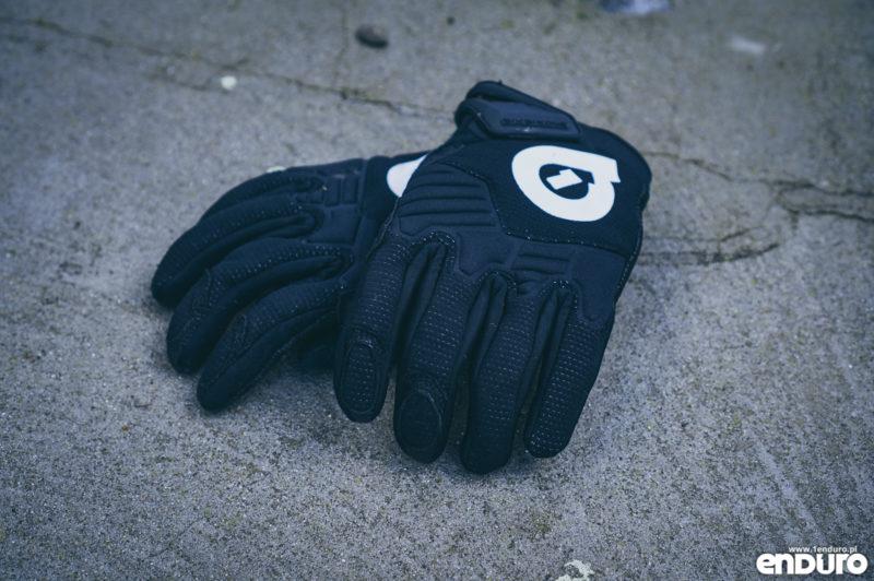 Ubrania rowerowe jesień zima - ciepłe rękawiczki