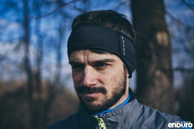 Ubrania rowerowe jesień zima - opaska na uszy