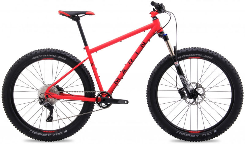 Rower hardtail enduro trail do 5000 zł: Marin Pine Mointain 1 27,5+ 2018