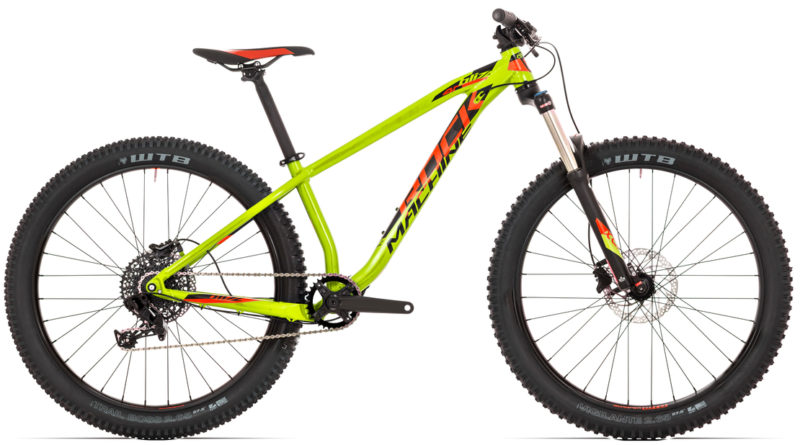 Rower hardtail enduro trail do 5000 zł: Rock Machine Blizz 40-27+ 2018