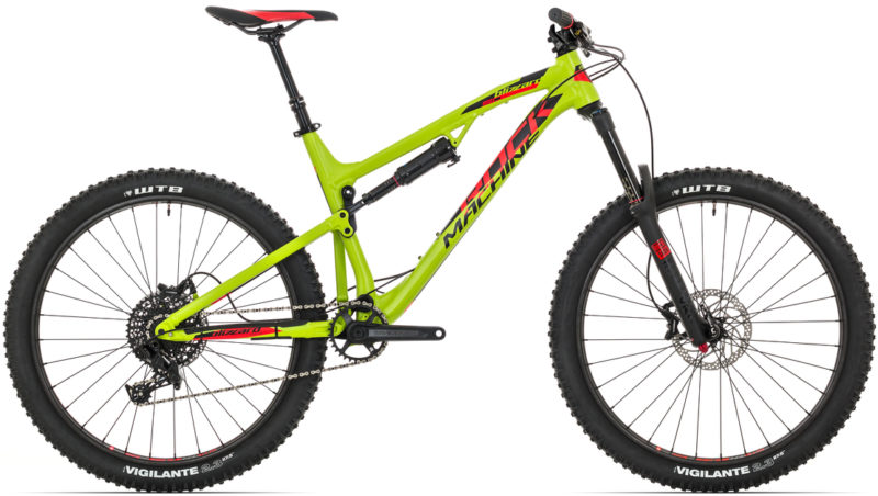 Rower enduro do 10000 zł: Rock Machine Blizzard 50-27 2018