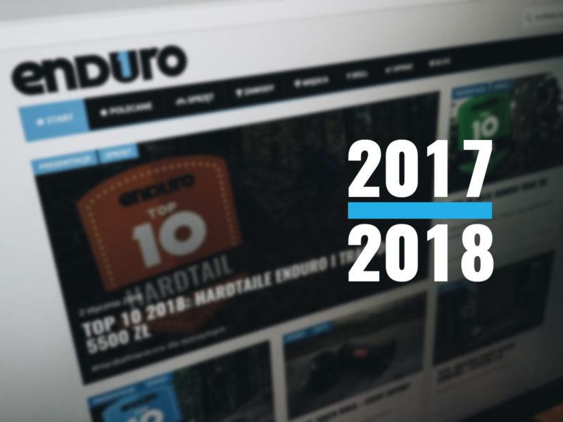 Blog rowerowy 1Enduro - podsumowanie roku