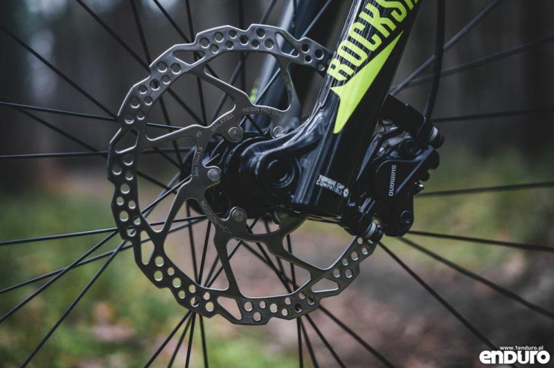 Marin Nail Trail 6 29 2018 - tarcza Shimano Centerlock resin pad only 180 mm