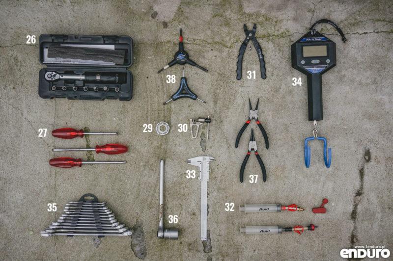 Narzędzia rowerowe do domowego warsztatu: zestaw najlepszy